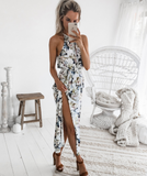 Design Sexy Sleeveless Halter dress