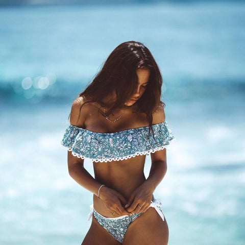 Sexy broken beautiful bikini Swimwear
