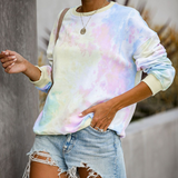 Loose Long Sleeve Printing Sweater