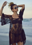 SEXY LACE SLING BEACH DRESS
