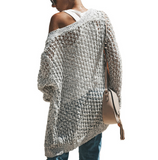 Women's Knit Cardigan Loose Sweater Women's Jacket