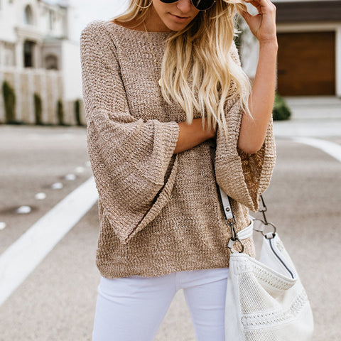 Loose Large Size Long Sleeve Sweater