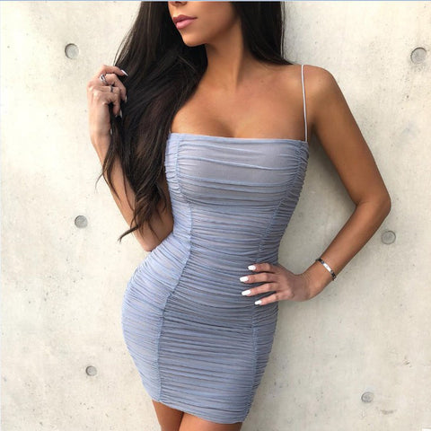 Fashion Sexy Sling Bag Hip Dress