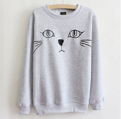 Cute round neck sweaters
