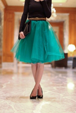 Design lovely gauze skirts