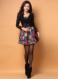 Lovely Lace Long-Sleeved Dress