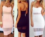 Fashion Sexy Sleeveless Vest Mini Dress