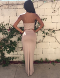 Sexy Backless Nightclub Dress