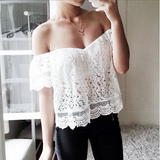 Fashion Loose Lace Bra T-Shirt
