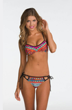 Design printed beach bikini