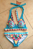 Design Print Bikini Swimsuit