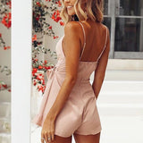 Fashion Backless Sleeveless Sling Jumpsuit