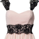Sexy Lace Sleeveless Halter Dress