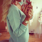 Fashion Blue Sweater