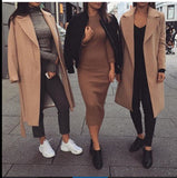 Fashion Design Long-Sleeved Jacket
