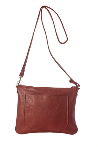 Jamie cross body bag in red by Vicki Jean