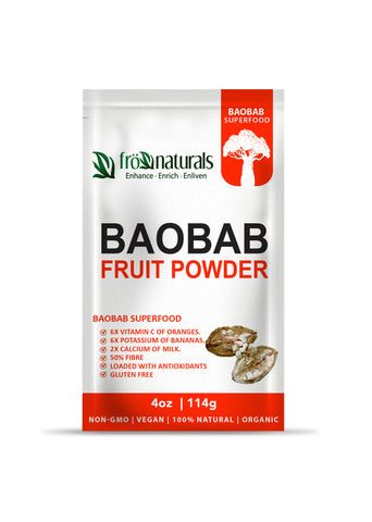 Superfood Baobab Fruit Powder 100% Pure - Gluten Free