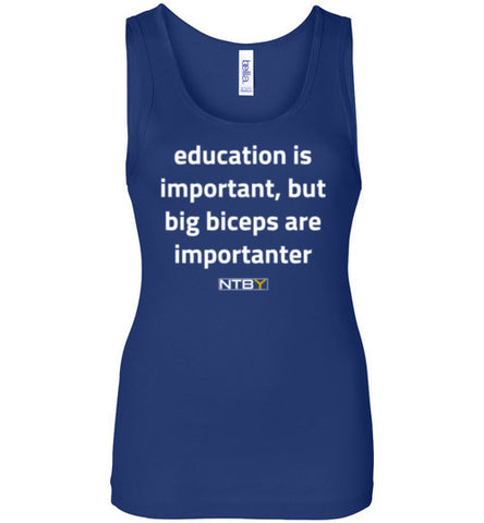 Lady's Importanter Tank - Dark Colors