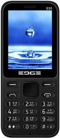 Edge E55 Multimedia Feature Phone (Black)