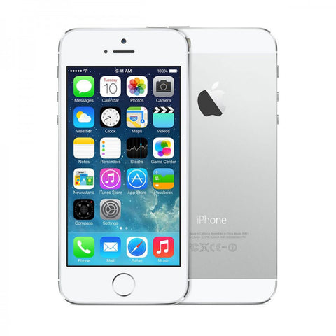 Apple iPhone 5S (Silver, with 16 GB)