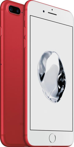 Apple iPhone 7 Plus (Red, 256GB) - Imported