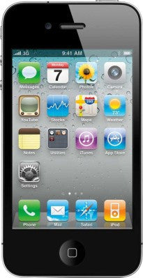 Apple iPhone 4S (Black, with 8 GB) - TKM Deals