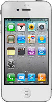 Apple iPhone 4S (White, with 8 GB) - TKM Deals