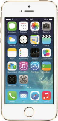 Apple iPhone 5S (Gold, with 16 GB) - TKM Deals