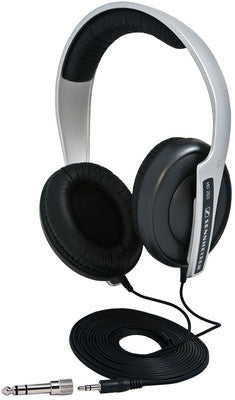 Sennheiser HD 203 Wired Headphones (Silver & Black) - TKM Deals