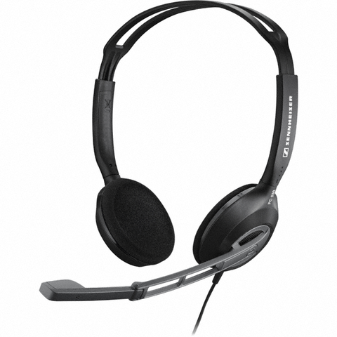 Sennheiser PC 230 Wired Headset (Black) - TKM Deals