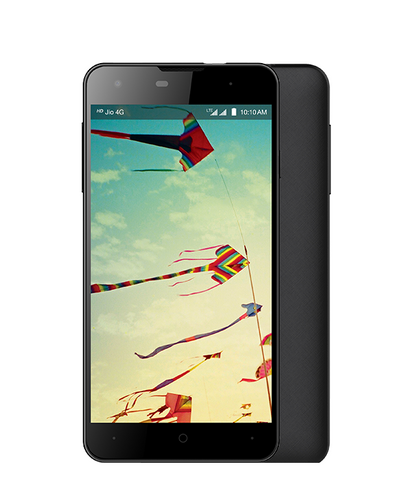 LYF WIND 1 LS-5010 (Black,16 GB) - (Jio SIM Free 4G Unlimited Internet for three months)