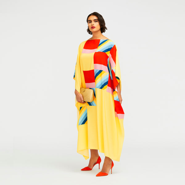 Apollo Long Scarf Dress (Polyester)