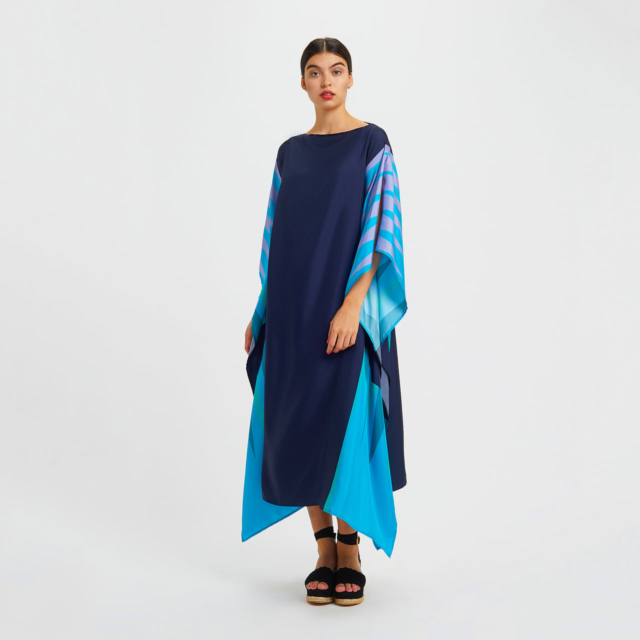 Campbell Long Scarf Dress