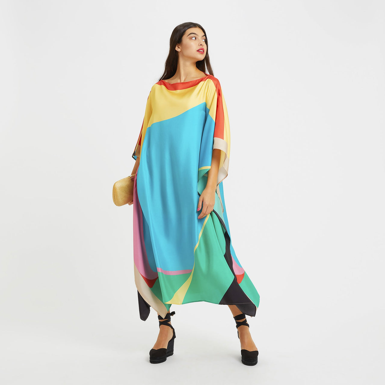 Winifred Long Scarf Dress