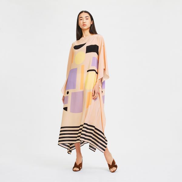 Peggy Long Scarf Dress