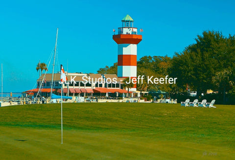 #11 Lighthouse from the 18th Green