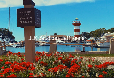 #13 Yacht Basin sign and the Lighthouse
