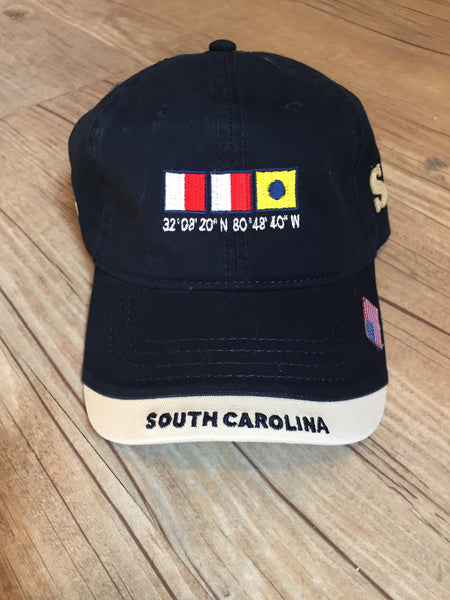 Nautical SC Hat (Navy)