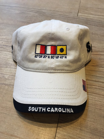 Nautical SC Hat (White)
