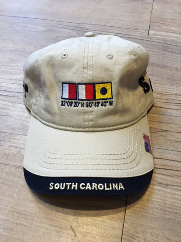 Nautical SC Hat (Beige)