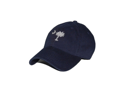 South Carolina Flag Needlepoint Hat (Navy)