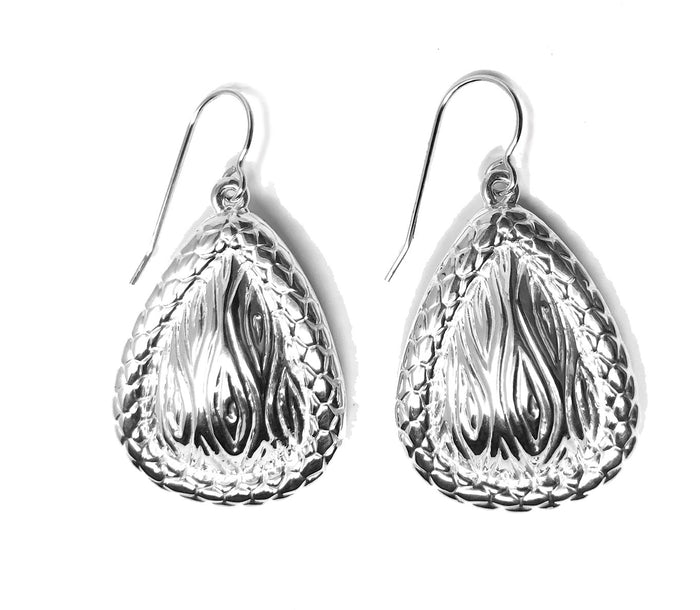 Simon Sebbag Women's Tear Bali Wire Silver Earrings