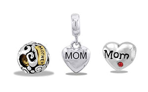 Davinci Beads Assortment of 3 Mom Beads