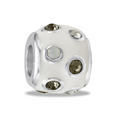 DaVinci Beads White CZ Dots Interchangeable Jewelry DB54-7