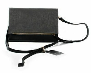 Urban Originals Sheer Luxe Black & Graphite Crosssbody Handbag