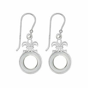 Kameleon Jewelry Fleur De Lis Earrings KE004