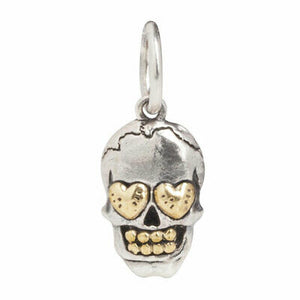 Waxing Poetic Women's Personal Vocabulary Skull Love Charm PV2MS-SKUL