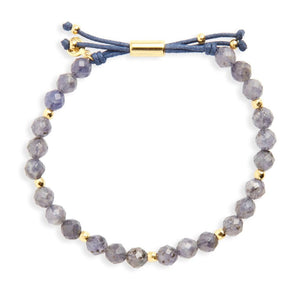 Gorjana Women's Iolite Focus Power Gemstone Bracelet