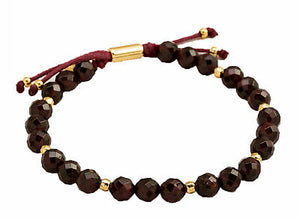 Gorjana Women's Garnet Energy Power Gemstone Beaded Bracelet