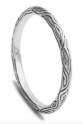 Simon Sebbag Women's Thin Bali Bangle Bracelet B1352